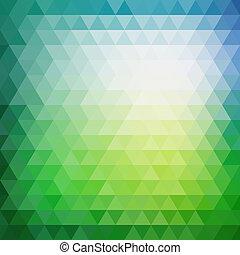 三角形, 圖案, 形狀, retro, 幾何學, 馬賽克