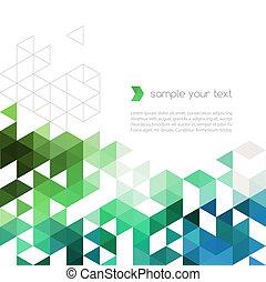 三角形, 顏色, 摘要, 形狀, 背景, 技術