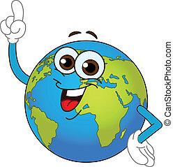 世界全球, 卡通