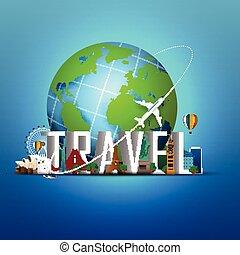 世界旅行, 背景