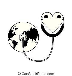 世界, 健康, 天
