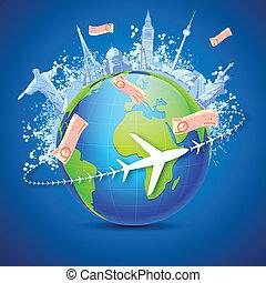 世界, 旅游