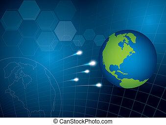 世界, 概念, 技術, 背景