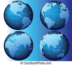 世界, 矢量, -
