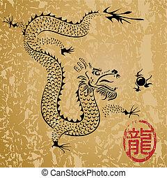 中國龍, 古老
