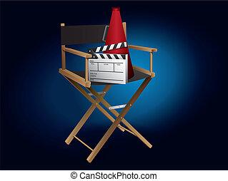 主任, 電影, 椅子