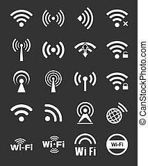 二十, wifi, 集合, 圖象
