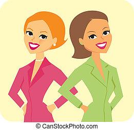 二, 插圖, businesswomen
