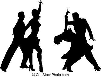 二, 跳舞, 夫婦