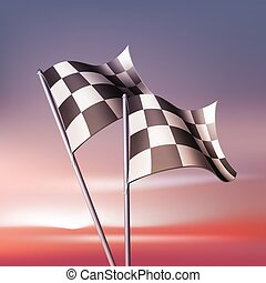 交替變換, 矢量, 旗