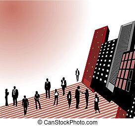 人們, 城市商務