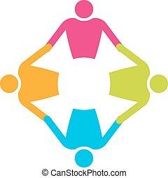 人們, 4., 配合, 藏品, 環繞, hands.
