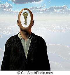 人類, 鑰匙