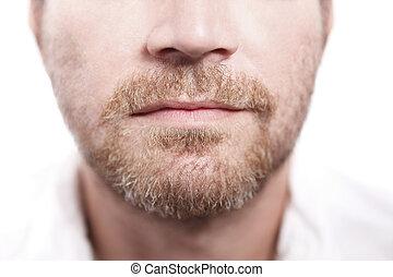 人, 胡子