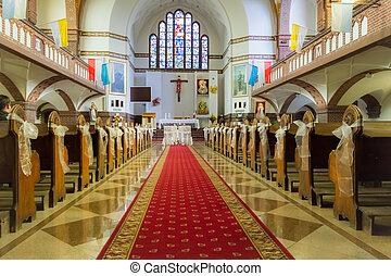 以前, 祭壇, 教堂, 婚禮