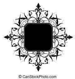 你, 矢量, 空間, editable, 裝飾, 框架, 或者, 正文, image.