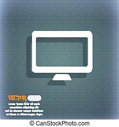 你, 矢量, 空間, widescreen, 電腦圖示, 藍色綠色, 摘要, 背景, 監控, text., 陰影, 符號