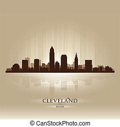俄亥俄, 地平線, 克利夫蘭, 黑色半面畫像, 城市