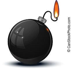 保險絲, 老, 點燃, 炸彈, 輪