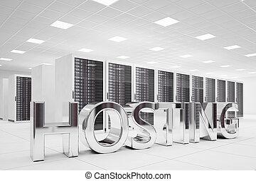 信件, 數据中心, hosting