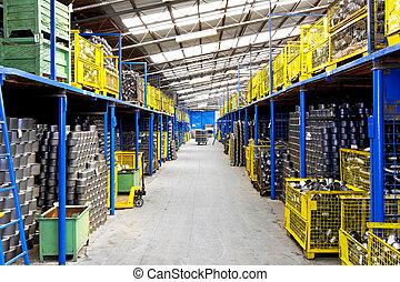 倉庫, 工業