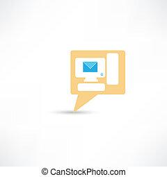 個人電腦電腦, 電子郵件