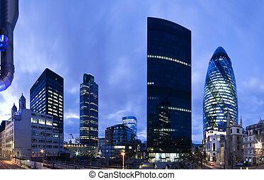 倫敦, twilight., 財政地區