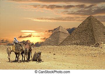 偉大, 人們, ath, 金字塔