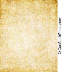 偉大, 老, 結構, 紙, 背景, 羊皮紙