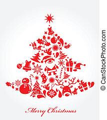 做, 元素, 圣誕樹