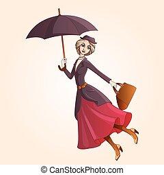 傘, 小說, 結婚, poppins, 飛行, 字