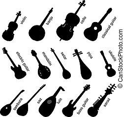 儀器, 集合, 音樂, no.1.