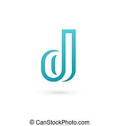 元素, d, 設計, 信, 標識語, 圖象, 樣板