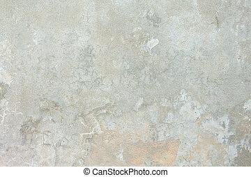 充分的框架, 水泥, 被成雜色, 淺褐色的背景, grungy