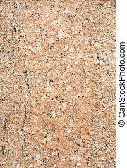 充分, 擦亮, 框架, 表面, 原色嗶嘰, 岩石, 花崗岩
