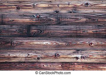 充分, 老, frame., 風化, 木制, 表面