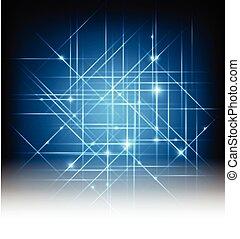 光, 摘要, 矢量, 背景
