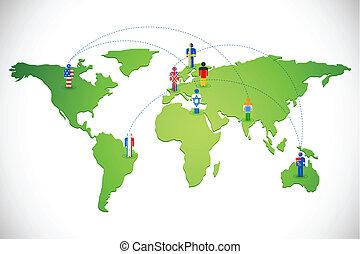 全世界, 聯网, 人類
