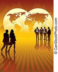 全球的商務