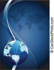 全球的网絡, 通訊