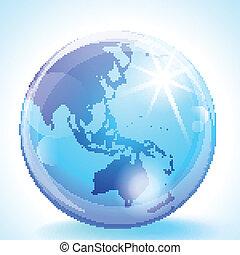 全球, 亞洲, 太平洋
