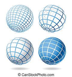 全球, 元素, 設計