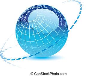 全球, 線, 加點
