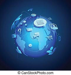 全球, 聯网