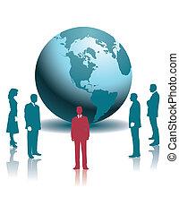全球, businesspeople