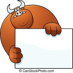 公牛, 卡通, 隱藏
