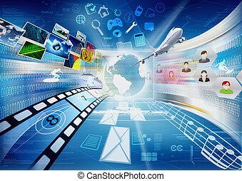 分享, 多媒體, 網際網路