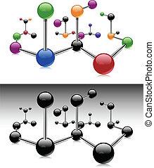 分子, 顏色
