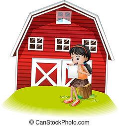 前面, 女孩讀物, barnhouse