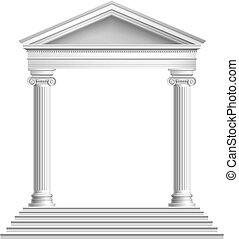 前面, 寺廟, 專欄